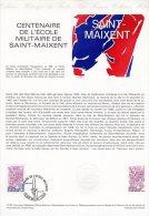 """Document Officiel De 1981 17-81 """" 100 ANS DE SAINT-MAIXENT """" N° YT 2140 + Parfait état + Prix Dégressif ! DPO - Postdokumente"""