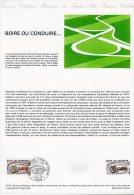 """Document Officiel De 1981 N° 31-81 """" BOIRE OU CONDUIRE """" N° YT 2159 + Parfait état + Prix Dégressif ! DPO - Postdokumente"""