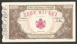 [NC] ROMANIA - BANCA NATIONALA A ROMANIEI - 10000 LEI (28 / 05 / 1946) - Romania