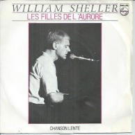 """45 Tours SP - WILLIAM SHELLER    - PHILIPS 812547 -  """" LES FILLES DE L'AURORE """" + 1 - Altri - Francese"""