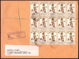 MAURITIUS PAMPLEMOUSSES 1992 - 8th AFRICAN ATHLETICS CHAMPIONSHIPS - REGISTERED - 30 STAMPS - Atletica
