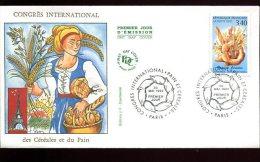 FDC 30/05/92 : Congrès Des Céréales Et Du Pain - Alimentación
