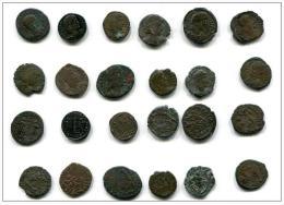 Constantius Et Constantius Gallus  / Lot De 12 Petits Bronzes - 7. The Christian Empire (307 AD To 363 AD)
