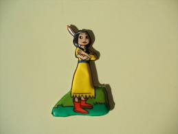 Figurina MIO LOCATELLI Plasteco SERIE PETER PAN  N 19 GIGLIO TIGRATO - Disney