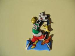 Figurina MIO LOCATELLI Plasteco SERIE PIPPO OLIMPIONICO  N 5 CORSA - Disney