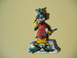Figurina MIO LOCATELLI Plasteco SERIE CACCIA SUBACQUEA N 13 PIPPO AL MARE - Disney