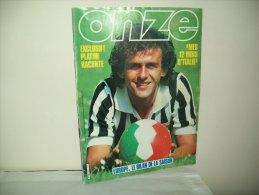 "Onze (1983) N. 91  ""Exclusiv ! Platini Racconte - Mes 12 Mois DìItalie - Sport"