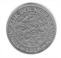 2-1/2 CENT .  NETHERLANDS  1916. - Paises Bajos