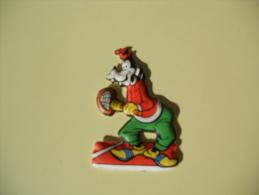 Figurina MIO LOCATELLI Plasteco SERIE PIPPO OLIMPIONICO  N 13 TENNIS - Disney