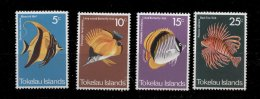 Tokelo  * - N° 45 à 48 - Poissons - Tokelau