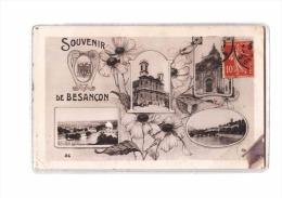 25 BESANCON Fantaisie, Souvenir, Multivue, Style Carte Photo, Ed Rose 26, 190? - Besancon