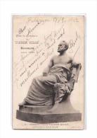 25 BESANCON Fetes Centenaire Victor Hugo, 08-1902, Monument, Statue Par Becquet, Ed DM 1, 1902 - Besancon