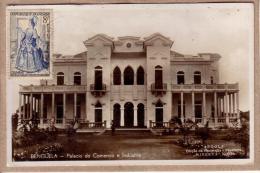 ANGOLA - CPSM - BENGUELA - PALACIO DO COMERCIO INDUSTRIA - PALAIS DU COMMERCE ET DE L´INDUSTRIE - éditeur MINERVA - Angola