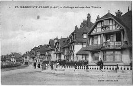 Hardelot Plage Pas De Calais Cottage Tennis Villas 1920 état Superbe - France
