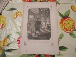 LITOGRAFIA INCISIONE STAMPA S.AMBROGIO PRIMI 900 - Litografia