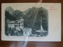 Tatra Hohe Tatra Tarpatak Füred A Lomniczi Csucscal Hôtel Kohlbach N°8930 Edit Stengel A Co Dresden - Polonia