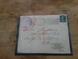 LOT 179642 TIMBRE DE FRANCE OBLITERE ENVELOPPE