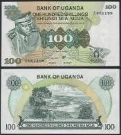 Uganda P 9 C - 100 Shillings 1973 - UNC - Uganda