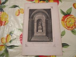 LITOGRAFIA INCISIONE STAMPA S.AMBROGIO PRIMI 900 CAPPELLA S.MARCELLINA - Litografia