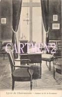 LYCEE DE CHATEAUROUX CABINET DE M. LE PROVISEUR 36 INDRE - Chateauroux