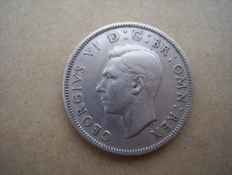 Great Britain 1951 GEORGE VI  TWO SHILLINGS  USED GOOD CONDITION. - 1902-1971 : Post-Victorian Coins