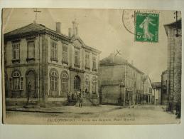57-FAULQUEMONT- Ecole Des Garçons, Place Monröé - Faulquemont