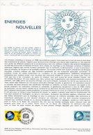 """Document Officiel De 1981 N° 10-81 """" ENERGIES NOUVELLES """" N° YT 2128 + Parfait état ! DPO"""