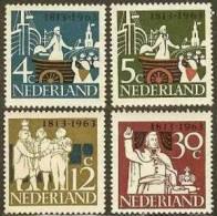 NEDERLAND 1963 OMP Zegels Onafhankelijkheid 813-816 #725 - Period 1949-1980 (Juliana)