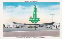 North Carolina Rockingham El Dorado Motel