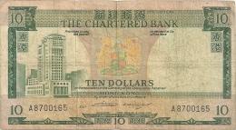 HONG KONG  10 DOLLARS 1975 - Hongkong