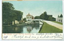 ANSICHTKAART * VOORBURG * HET PLANKJE AAN DE VLIET * GELOPEN IN 1906 NAAR LAREN  (2798) - Voorburg
