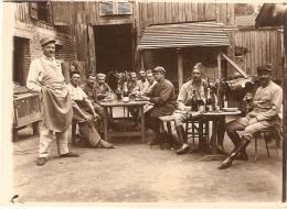 Guerre 14-18 .24ème Rég D Art. Repas - 1914-18