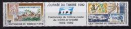 Ivory Coast Stamps Day 1992 - Día Del Sello