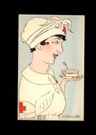 CROIX-ROUGE - Infirmière - Carte Dessinée Marthe BUHL - Croix-Rouge