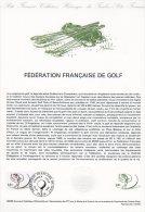 "Document Officiel De 1980 N° 33-80 "" GOLF "" N° YT 2105 + Prix Dégressif. DPO - Postdokumente"