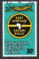 Kenya KUT 1965 E. African Safari Rally 30c Value, Used - Kenya, Uganda & Tanganyika