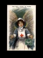 CROIX-ROUGE - Infirmière - Carte Dessinée - Croix-Rouge