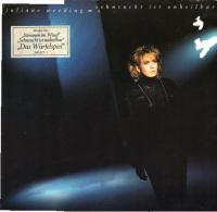 * LP *  JULIANE WERDING - SEHNSUCHT IST UNHEILBAR (Germany 1986) - Vinyl-Schallplatten
