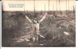 """(14/18) 62 NEUVE-CHAPELLE CPA """"LE CHRIST DES TRANCHEES"""" - Guerra 1914-18"""
