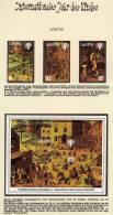 Jahr Des Kindes 1979 Kinderspiele Lesetho 288/0 + Block 4 ** 2€ Blocchi Hojita M/s UNESCO Bloc Children Sheet Bf Africa - Lesotho (1966-...)