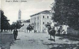 AK AK ALBANIEN ALBANIA SHKODRA SHQYPËNIA SKUTARI Rruga  E Madhe ,A.IDROMENO,OLD POSTCARD - Albanie