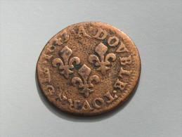 Double Tournois  à Identifier  - LOUIS XIIII -   ***** EN ACHAT IMMEDIAT ***** - 476-1789 Monnaies Seigneuriales