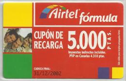 = SPAIN -  AIRTEL  - 13  - MY COLLECTION = - Airtel