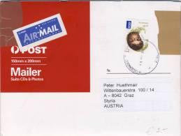 Australia 2013 - Echidna - Ameisenigel (Tachyglossidae) On Cover - 2010-... Elizabeth II