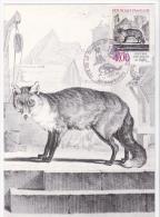 Carte-Maximum FRANCE N° Yvert 2541 (RENARD) Obl Sp Ill Rambures (Buffon) - Maximum Cards