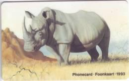 **Superbe Télécarte D'Afrique Du Sud White Rhino    R10  Vide  TTB*** N° Lot : SAEGE00004  314 - Afrique Du Sud