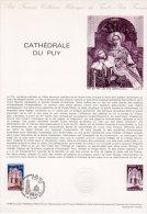 """Document Officiel De 1980 N° 13-80 """" CATHEDRALE DU PUY """" N° YT 2084 + Parfait état + Prix Dégressif ! DPO - Postdokumente"""