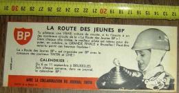 PUB PUBLICITE BP LA ROUTE DES JEUNES A BRUXELLES GRANDE FINALE PUBLIART - Collections