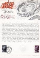 """Document Officiel De 1980 N° 27-80 """" FREDERIC MISTRAL """" N° YT 2098 + Prix Dégressif. DPO - Ecrivains"""