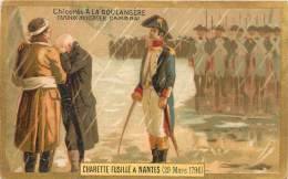 Chromos Réf. X13-097. Chicorée A La Boulangère Cambrai Cardon Duverger Charette Fusillé à Nantes - Trade Cards